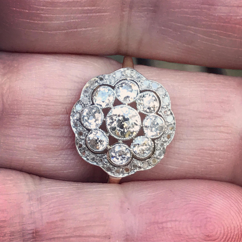 edwardian-diamond-double-halo-cluster-6 – Karen Deakin Antiques