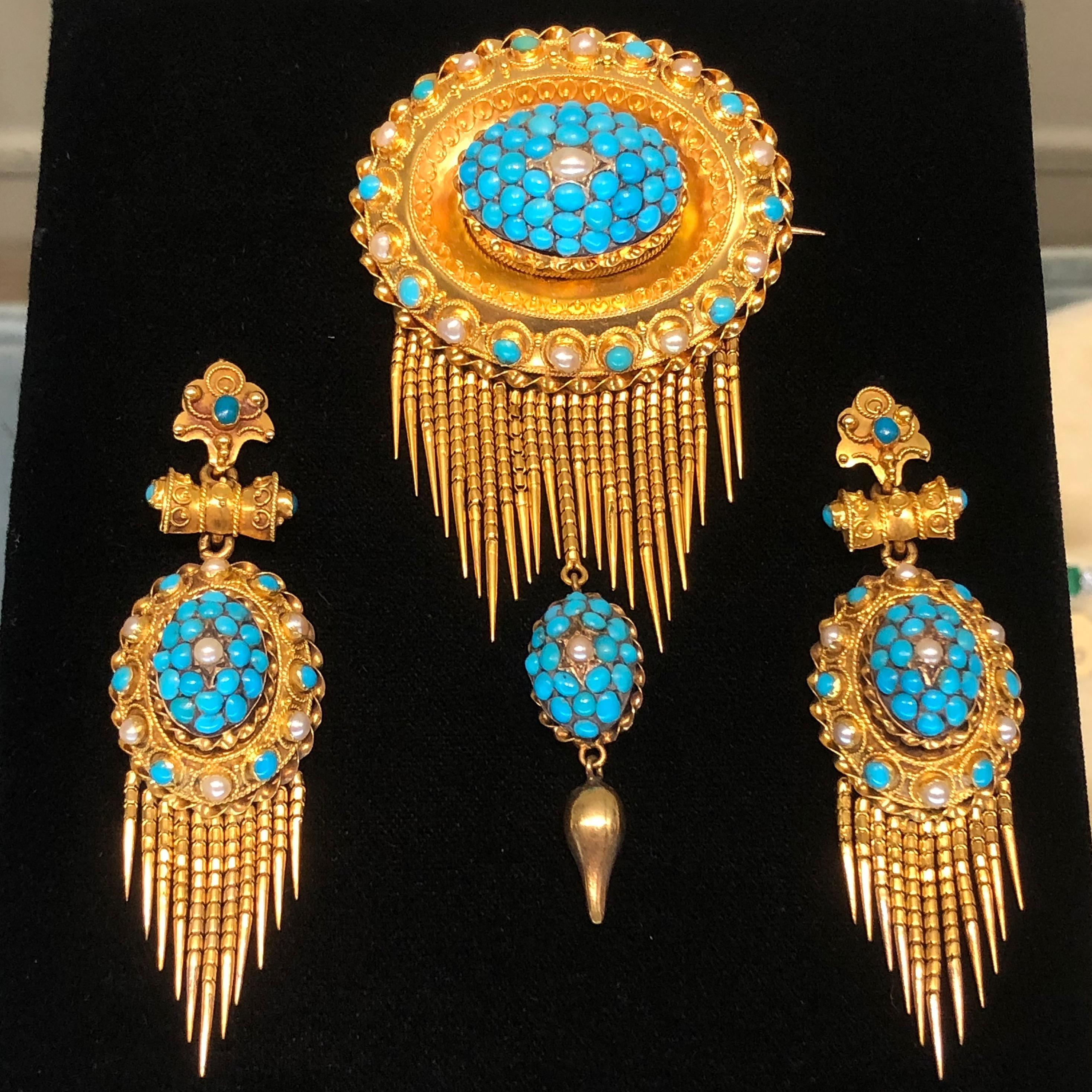 e6261ce43c64a Antique Victorian turquoise