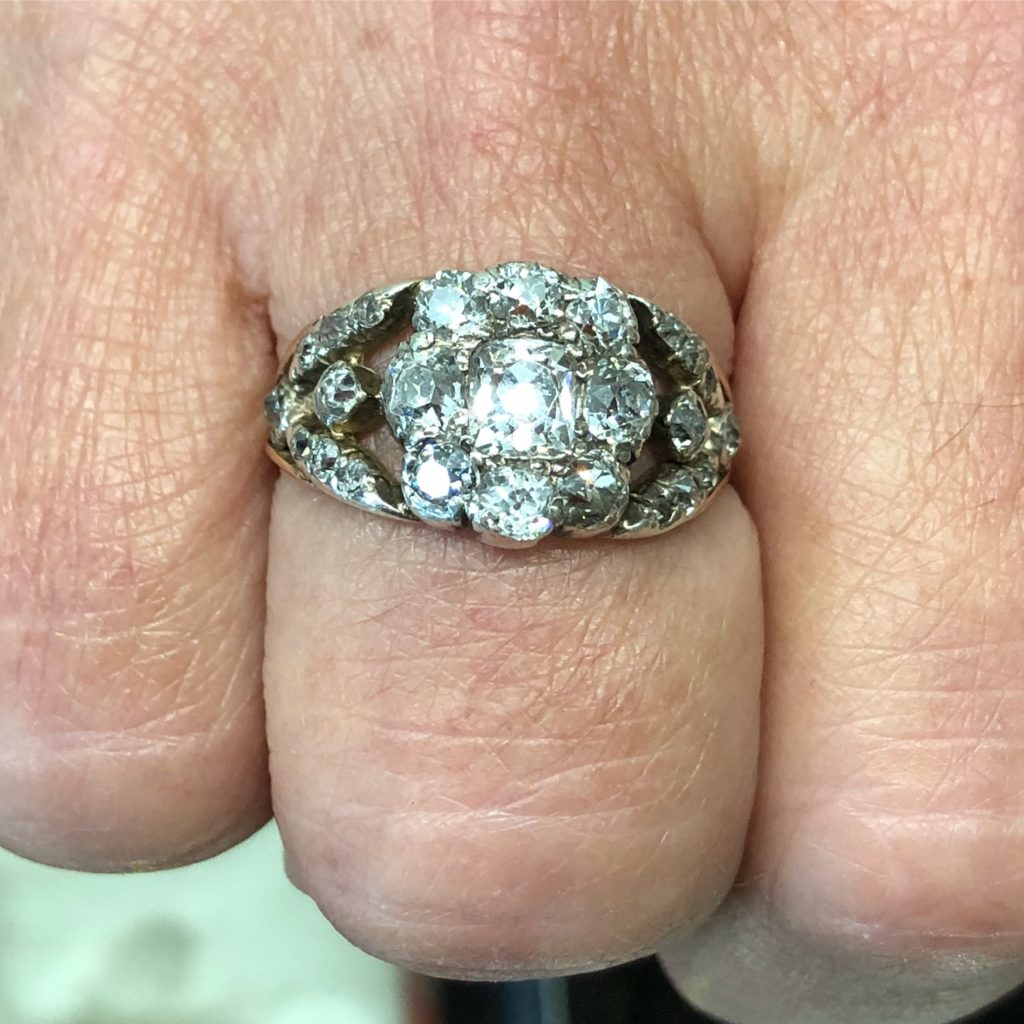 antique rings sydney - antique jewellery australia - vintage diamond rings