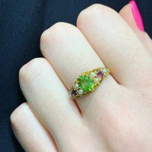 vintage engagement rings sydney - victorian engagement rings sydney