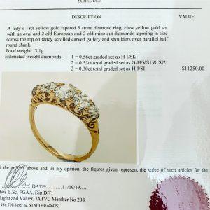 antique engagement rings sydney - antique rings sydney