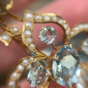 vintage engagement rings sydney - edwardian engagement rings sydney