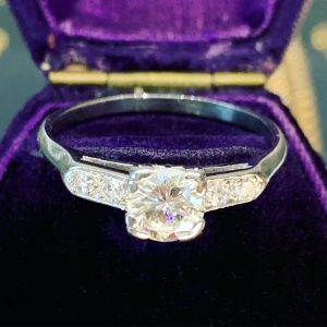 art deco engagement rings sydney - antique jewellery sydney