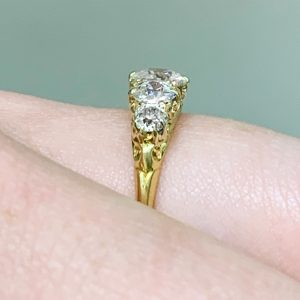 victorian engagement rings sydney - antique rings sydney