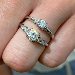 art deco engagement rings sydney - victorian engagement rings sydney