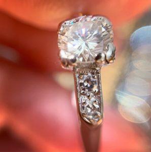 art deco engagement rings sydney - antique rings sydney