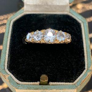 art deco engagement rings sydney - edwardian engagement rings sydney