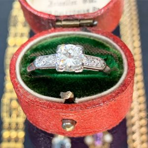 art deco engagement rings sydney - antique rings sydney