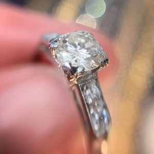 rt deco engagement rings sydney - antique rings sydney