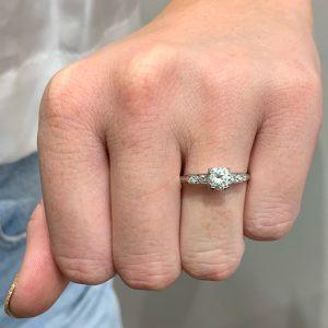 art deco engagement rings sydney - victorian engagement rings sydney