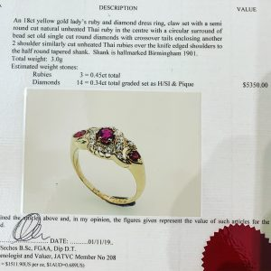vintage engagement rings Sydney - art deco engagement rings Sydney